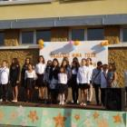 Тържествено издигнаха знамето на България в ХVІ училище вчера 09_1473999232