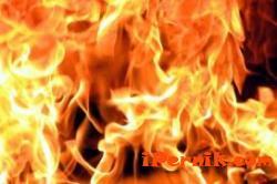 Лек автомобил е горял в Перник 05_1400571946