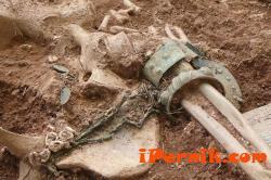 Археолозите в Перник откриха скелет на млада невеста с булчинските й накити 07_1404887230