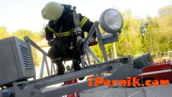 Проведоха демонстрация на пожарната и полицията в Трън 09_1441896062