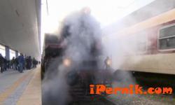 Пуснаха локомотив, който е превозвал въглища от Перник за София 10_1445239752