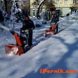 Общината в Перник купи техника за почистване на малките улички 01_1453449483