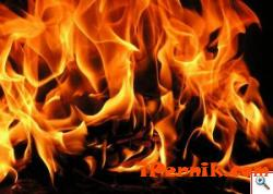 Фургон и паянтови постройки са унищожени при пожар в Перник 07_1468048903