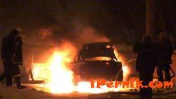 Лек автомобил е горял в радомирското село  Поцърненци 07_1468664524