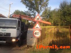 Поставиха допълнителна маркировка на пешеходните пътеки в Драгичево 09_1473775602