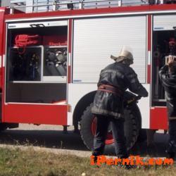 Трактор и косачка са горели в пернишкото с. Богданов дол 09_1473776225