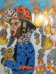 Момче от Радомир сред най-добрите в конкурс на пожарната 12_1483073172