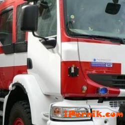 """Предната част на джип """"БМВ"""" е изгоряла при пожар 01_1484147271"""