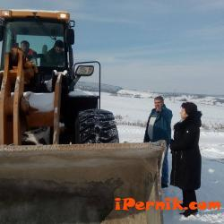 """Отблокираха пътят в местността """"Бушляк"""" в град Батановци  01_1484147782"""