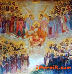 Икона на всички български светии - Николай Шелехов - Игуменарната на Рилски мана