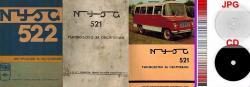 автомобили Ниса 521 Ниса 522 - техническа документация на ДИСК  07_1562953610