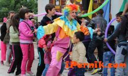 Клоуньт Бонбончо - част от вашия семеен празник!