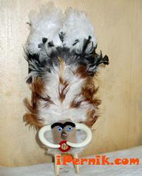 Сурвакарска маска с пера 1359134579