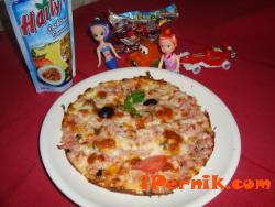Детско меню + Сок + Подарък + Пица Прошуто Фунги 1364399666