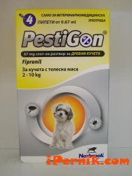 пестигон за кучета от 2 до 10 кг