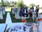 За първи път сватба на крепостта в Перник