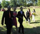 За първи път сватба на крепостта в Перник по американски