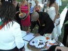 За първи път сватба на крепостта в Перник - подписа на жениха
