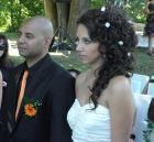 Младоженците Антъни и Мина